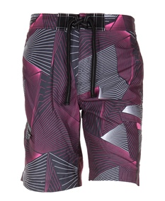 Tron Graphic Pink Swim Shorts