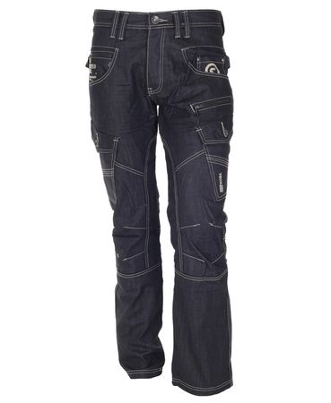 Twisted Soul Navy Cargo Jeans