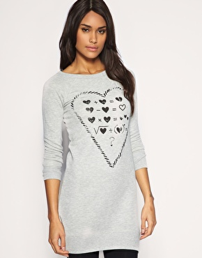 ASOS Love Equation Sweat Dress