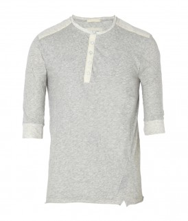 All Saints Split Crew Top