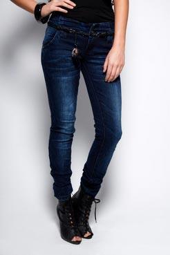 Boohoo Faith Denim Skinny Jeans