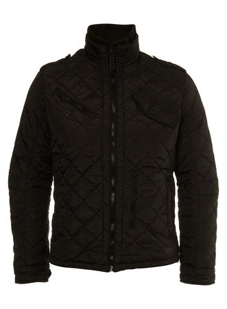 Burton Black Quilted Jacket