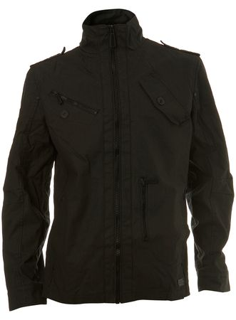 Burton Grey Cotton Coated Jacket