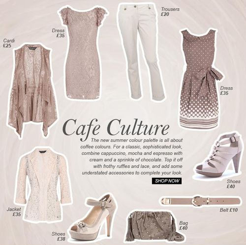 Cafe Culture At Dorothy Perkins