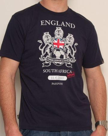 Chunk Passport England T-Shirt
