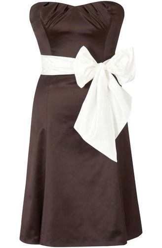 Coast Fantasia Duchess Satin Dress
