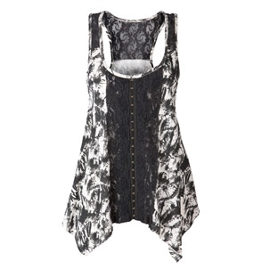 Crafted Butterfly Vest Top