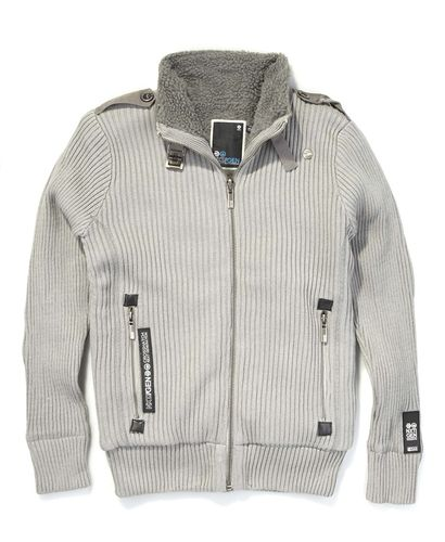 Crosshatch Zip Up Jumpers
