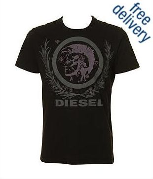 Diesel T Sober T-Shirt. Short sleeve cotton t-shirt by Diesel, ...