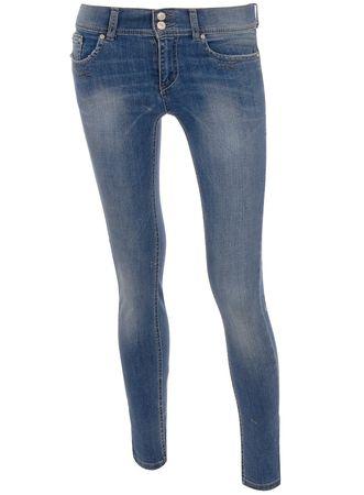 Dorothy Perkins Mid Wash Stud Skinny Jeans