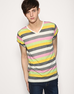 Dr Denim Nicholas Striped T-Shirt