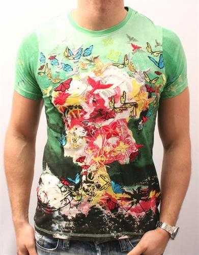 Elvis Jesus Nuclear Bomb T-Shirt