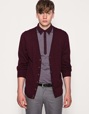 Farah Vintage The Weatherhead Cable Knit Cardigan