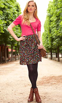 Fashion Union Pelmet Floral Skirt