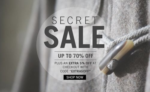 Firetrap Secret Sale