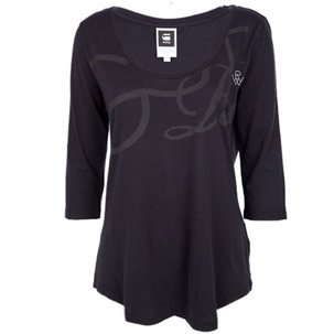 G-Star 3 Quarter Length Long Sleeved T-Shirt