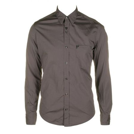 Hugo Boss Orange Cielonero Charcoal Grey Shirt