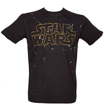 Junk Food Star Wars Logo Splatter T-Shirt