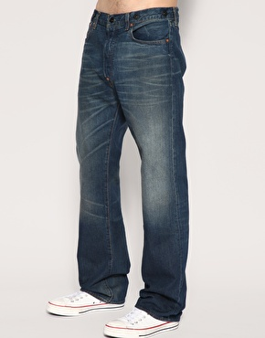 Levis Product With Roots 1890S 201 Straight Jeans