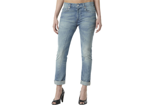 Levis Womens 501 Slim Fit Jeans