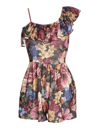 Love Jessica Print Playsuit