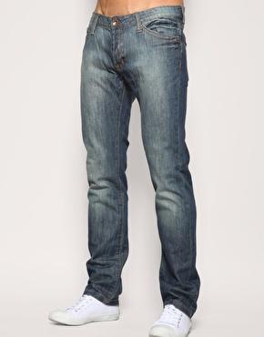 Mango Steve Slim Washed Jeans