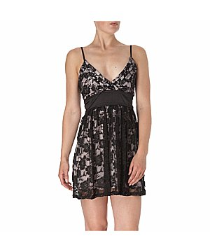 Mela Loves London Lace Underlay Dress