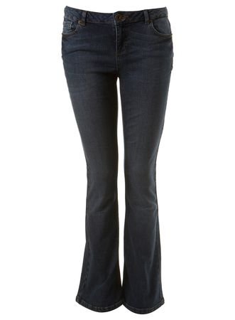 Miss Selfridge Dark Wash Bootcut Jeans