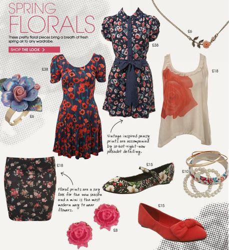 Miss Selfridge Spring Florals