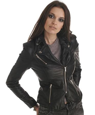Muubaa Cion Fitted Biker Jacket