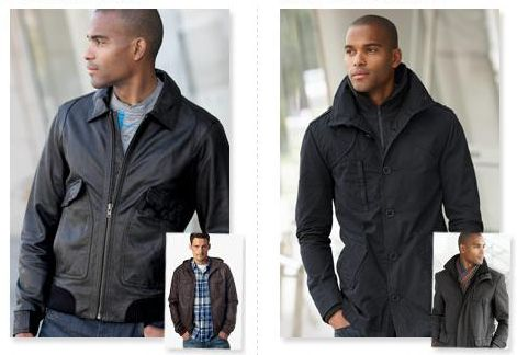 Winter Coats for Men 2010/2011