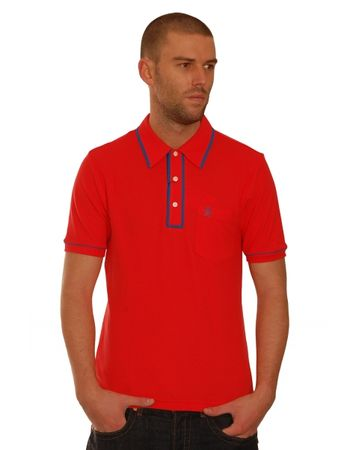 Original Penguin Red Earl Polo Shirt