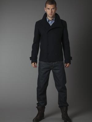 Peter Werth Navy Reefer Jacket