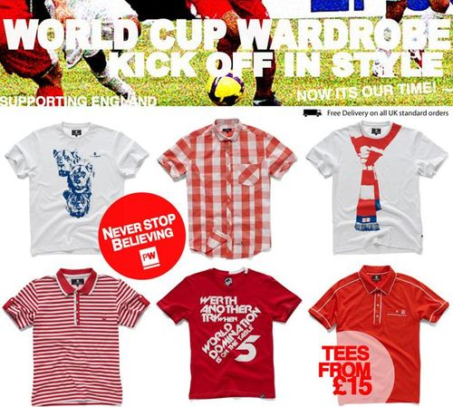 Peter Werth World Cup Shirts