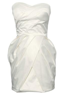 Rare Bow Waist Tube Dress