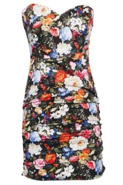 Rare Floral Tube Dress