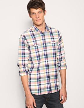 Reiss Carter Bright Bold Check Shirt
