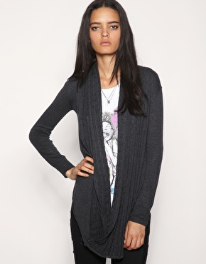 Religion Cable Trimmed Cardigan