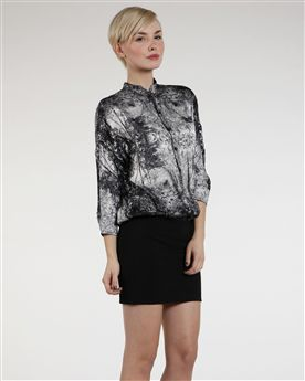 Ted Baker Revore Printed Shirt Dress