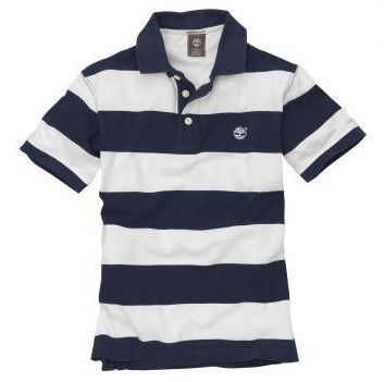 Timberland Short Sleeve Rugby Stripe Polo Top