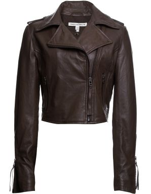 Twenty8twelve Leather Biker Jacket