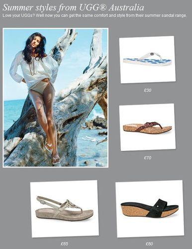 Ugg Summer Sandals