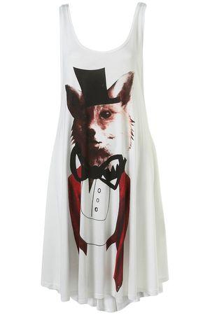 Unique Fox Print Dress