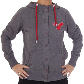 Voi Lady Force Charcoal Hoodie