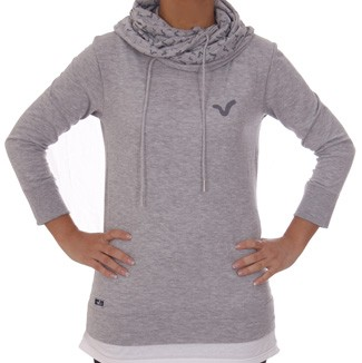 Voi Lady Cow Neck Davies Grey Top