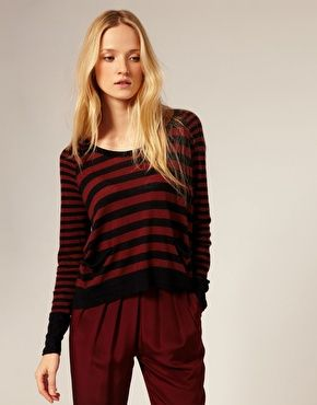 Whistles Ophelia Stripe Sweater