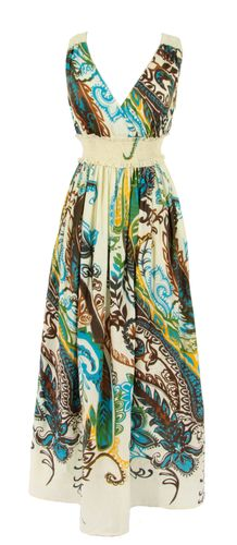 Yumi Paisley Maxi Dress