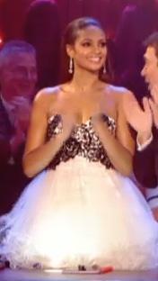 Alesha Dixon Forever Unique Simone Prom Dress