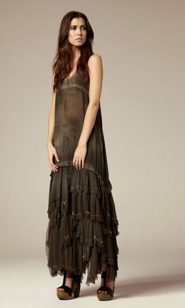 All Saints Eider Maxi Dress