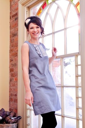 Annie Greenabelle Chalk Blue Buttercup Dress